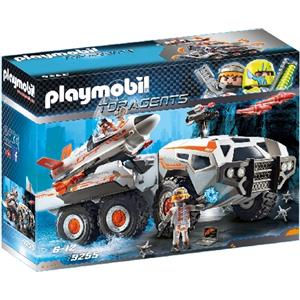 Playmobil Top Agents Mezzo d'assalto dello Spy Team