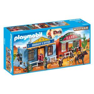 Playmobil Western Villaggio Western Portatile