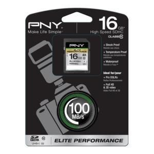 PNY Elite Performance SDHC 16 GB