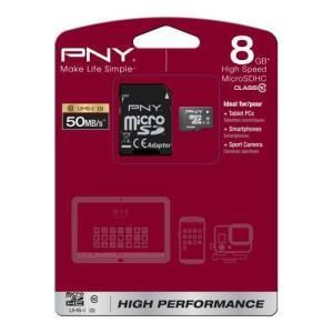 PNY High Performance microSDHC 8 GB