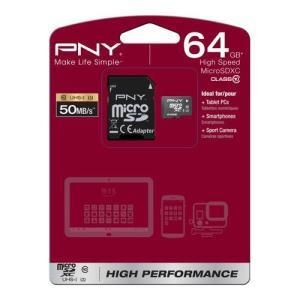 PNY High Performance microSDXC 64 GB