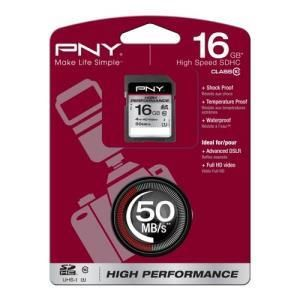 PNY High Performance SDHC 16 GB