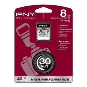 PNY High Performance SDHC 8 GB