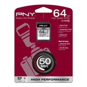 PNY High Performance SDXC 64 GB