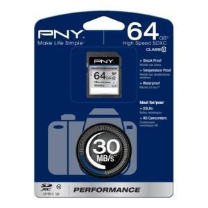 PNY Performance SDXC 64 GB