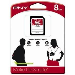 PNY Storage SDHC 8 GB