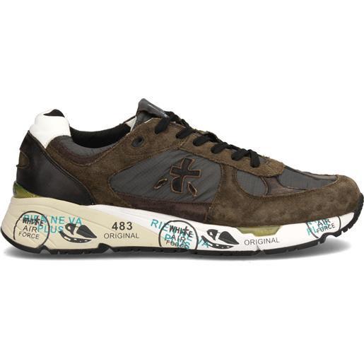 Sneakers FW20 Mase 4005 Pelle//Camoscio Premiata Scarpa UOMO Marron//Brown