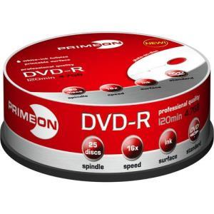 Primeon DVD-R 4.7 GB 16x (25 pcs cakebox) Printable