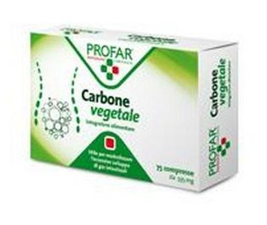 Profar Carbone Vegetale 75compresse