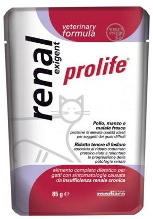 Prolife Gatto Renal Exigent Veterinary Formula - umido