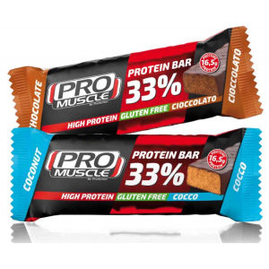 ProMuscle Protein Bar 33% 50g