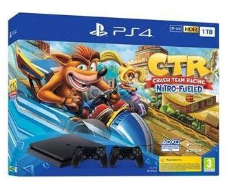 Sony PlayStation 4 (1 TB) + Crash Team Racing Nitro-Fueled