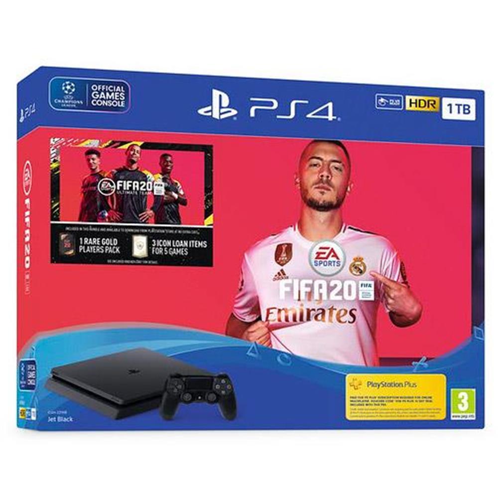 Sony PlayStation 4 (1 TB) + FIFA 20