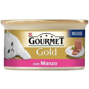Purina Gourmet Gold Mousse con Manzo