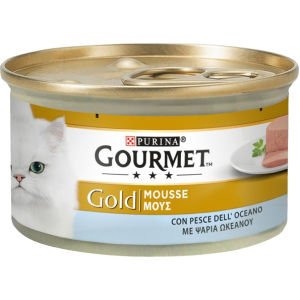 Purina Gourmet Gold Mousse con Pesce Dell'oceano