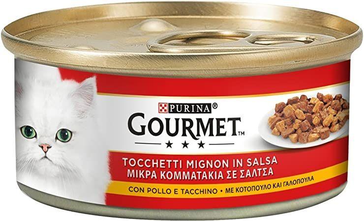 Purina Gourmet Tocchetti Mignon con Pollo e Tacchino