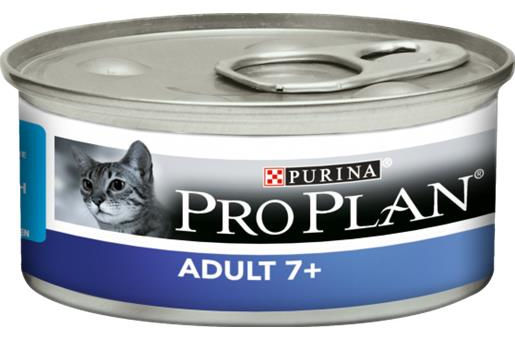 Purina Pro Plan Adult 7+ Mousse con Tonno