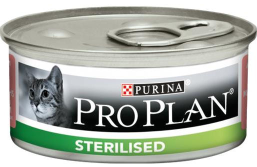 Purina Pro Plan Sterilised Cat Patè (Salmone e Tonno) - umido