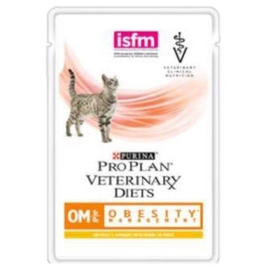 Purina Pro Plan Veterinary Diets Feline OM Obesity Management (Pollo) - umido