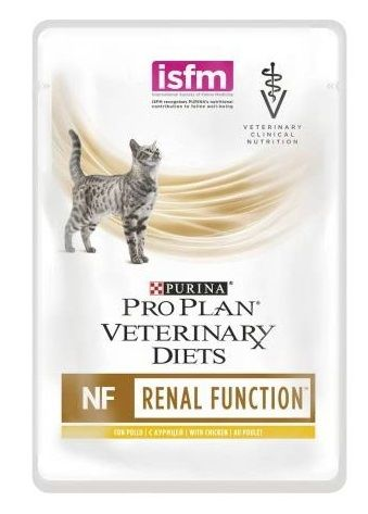Purina Pro Plan Veterinary Diets Gatto Renal Function NF (Salmone) - umido 85g