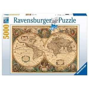 Ravensburger antico mappamondo 5000 pz