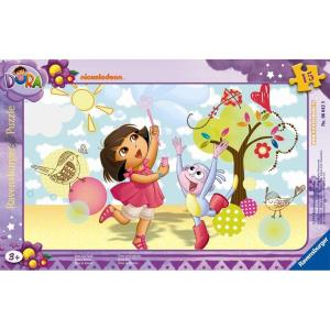 Ravensburger Child with Dora Having Fun