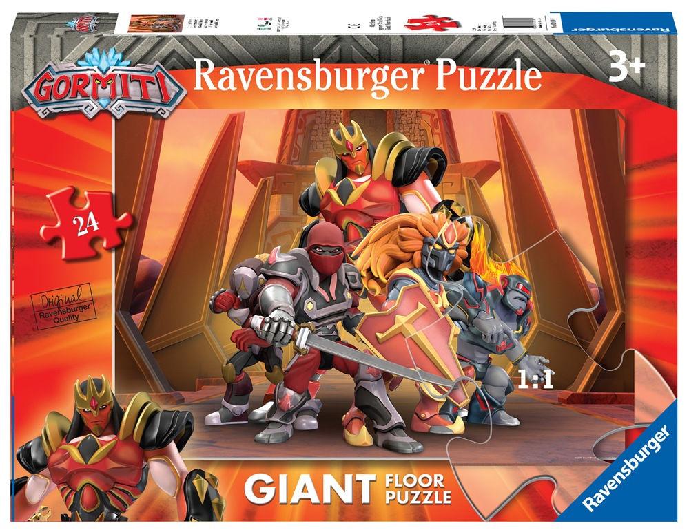 Ravensburger Gormiti Giant puzzle da pavimento