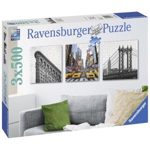Ravensburger Impressioni di New York City 3x500