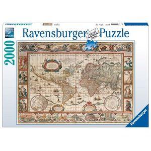 Ravensburger mappamondo del 1650 2000 pz