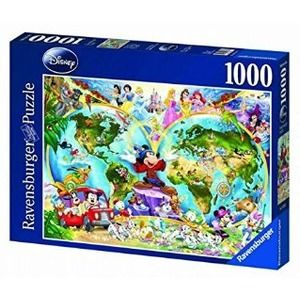 Ravensburger Mappamondo Disney Fantasy