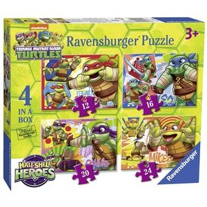 Ravensburger Tartarughe Ninja 4 in a box