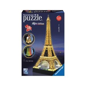 Ravensburger Tour Eiffel Night Edition 3D