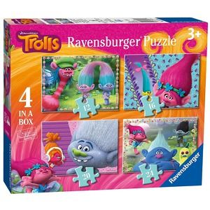 Ravensburger Trolls 4 in a box