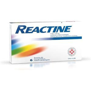 Johnson & Johnson Reactine 6 compresse 5mg+120mg