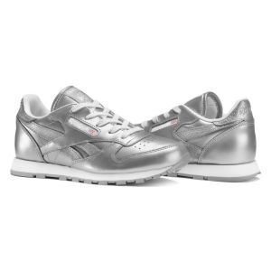 Reebok Classic Leather Metallic Bambino