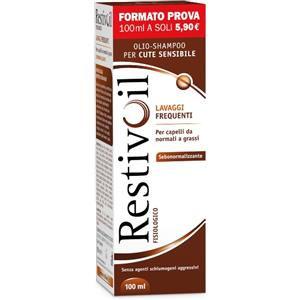 RestivOil Fisiologico Sebonormalizzante Olio Shampoo 100ml
