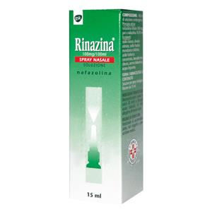 GlaxoSmithKline Rinazina Spray Nasale 15ml