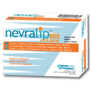 River Pharma Nevralip 600 Retard 20compresse