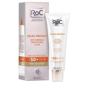 Roc Soleil Protect Fluida Anti Rughe Levigante SPF50+
