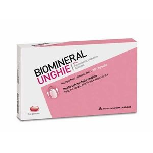 Rottapharm Biomineral Unghie 30capsule