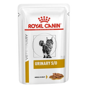 Royal Canin Veterinary Diet Urinary S/O Morsels In Gravy Feline -Umido