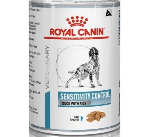 Royal Canin Veterinary Diets Sensitivity Control Cane (Anatra) - umido