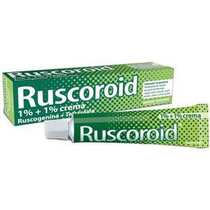 Sanofi Ruscoroid crema rettale 40g 1%+1%