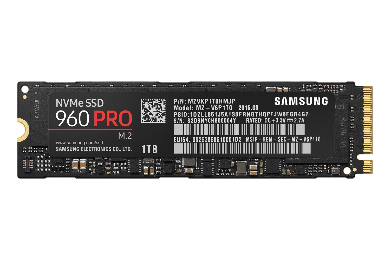 Samsung 960 pro mz v6p1t0bw