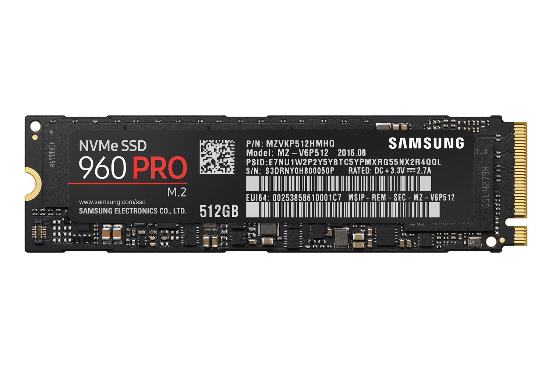 Samsung 960 pro mz v6p512bw