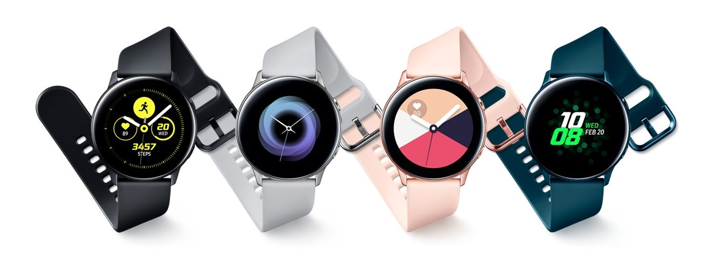 Samsung Galaxy Watch Active 40mm Gold