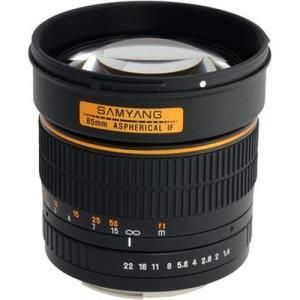 Samyang 85mm f/1.4 Aspherical IF - Canon EF