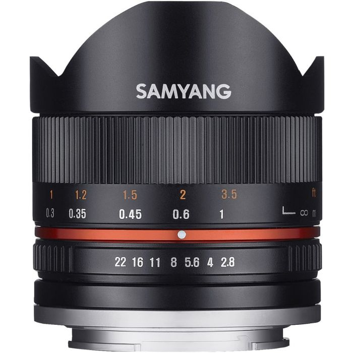 Samyang 8mm f/2.8 UMC II - Sony E-mount