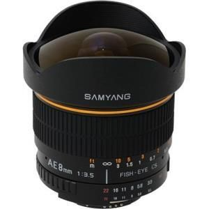 Samyang 8mm f/3.5 IF MC Fish-eye - Nikon F