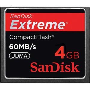 SanDisk Extreme 400x CompactFlash 4 GB